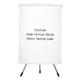 Create Custom Home Office Decor Tripod Photo Lamp