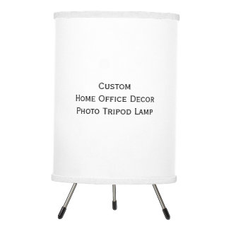 Create Custom Home Office Decor Tripod Photo Lamp
