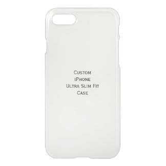 Create Custom iPhone Stylish Ultra Slim Fit Case