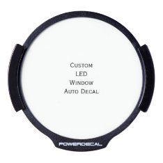 Create Custom Led Window Auto Decal at Zazzle