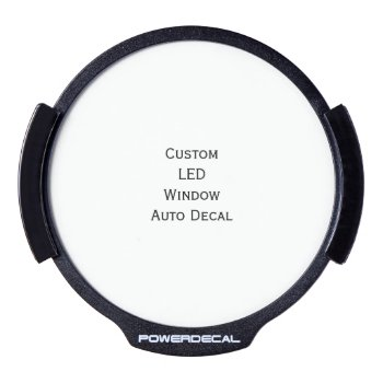 Create Custom Led Window Auto Decal by iCoolCreate at Zazzle