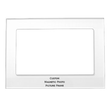 iCoolCreate Create Custom Magnetic Family Photo Picture Frame
