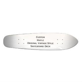 Create Custom Maple Vintage Style Skateboard Deck