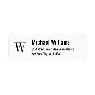 Business Shipping, Address, & Return Address Labels   Zazzle