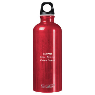 Create Custom Personalized Cool Stylish Aluminum Water Bottle