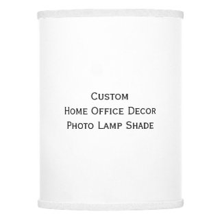 Create Custom Personalized Home Office Decor Photo Lamp Shade