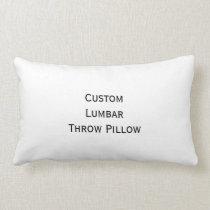 Create Custom Personalized Room Home Decor Photo Lumbar Pillow