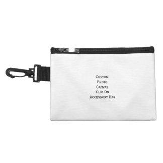 Create Custom Photo Canvas Clip On Accessory Bag