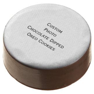 Create Custom Photo Chocolate Dipped Oreo Cookies