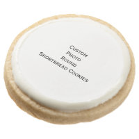 Create Custom Photo Round Shortbread Cookies