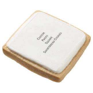Create Custom Photo Square Shortbread Cookies Square Premium Shortbread Cookie