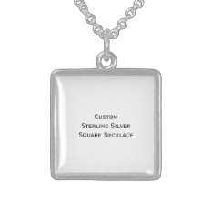 Create Custom Pure Sterling Silver Photo Necklace at Zazzle