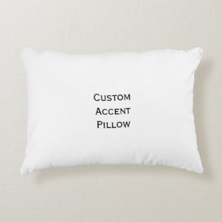 Create Custom Room Home Decor Accent Pillow at Zazzle