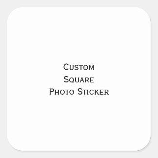 Create Custom Square Photo Stickers Sheet