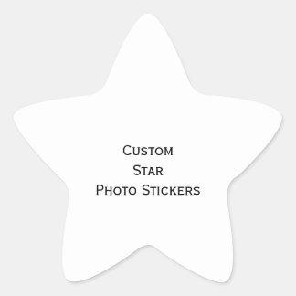 Create Custom Star Photo Stickers Sheet