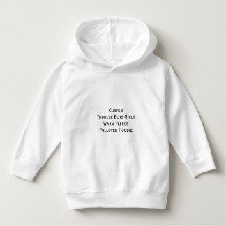 Create Custom Toddler Warm Fleece Pullover Hoodie