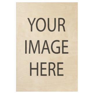 "Create Custom Wood Poster, 19"" x 29"" Wood Poster"