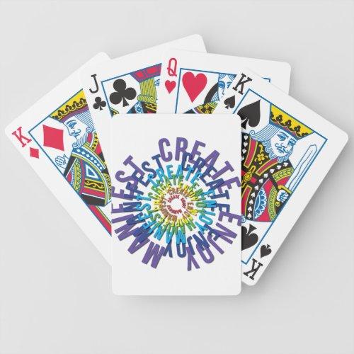 Create Enjoy Manifest _ LOA Bicycle Playing Cards