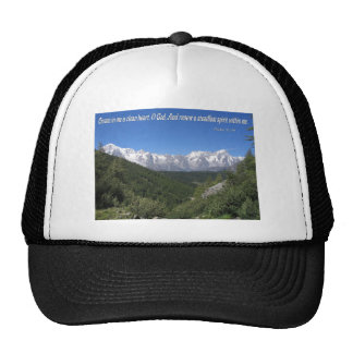 Create In Me A Clean Heart, Oh God Psalm 51:10 Trucker Hat