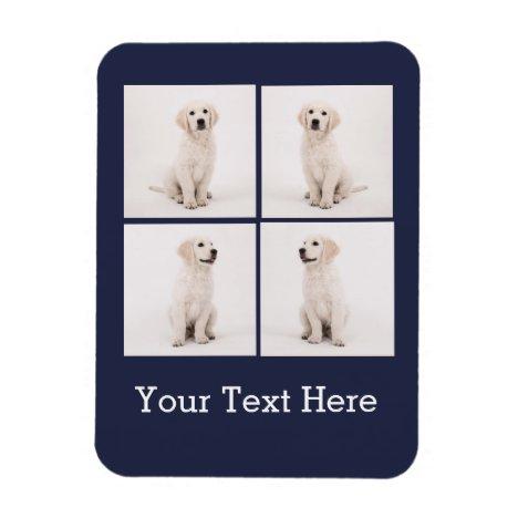 Create Instagram Family Photo Dog Cat Photos Magnet