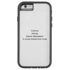 Create Iphone Shock Absorb 3 Layer Protective Case at Zazzle