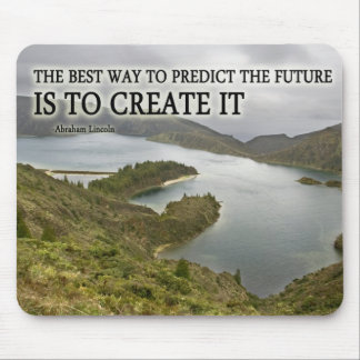 Create It Quote on Photograph Mouse Pad