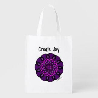 Create Joy Reusable Grocery Bag