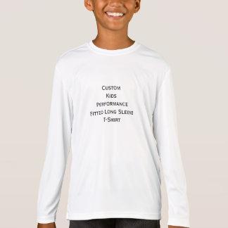 Create Kids Custom Performance Long Sleeve T-Shirt