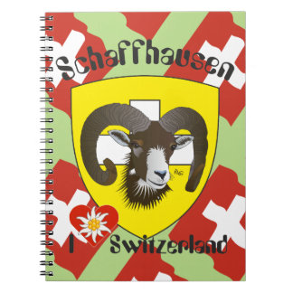 Create-live - Switzerland - Suisse - note booklets Spiral Note Book