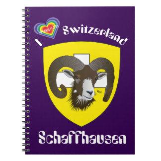 Create-live - Switzerland - Suisse - note booklets Spiral Notebook