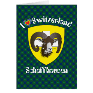 Create-live Switzerland Suisse Svizzera greeting Card