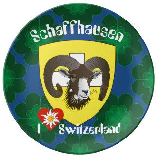Create-live Switzerland Suisse Svizzera plate
