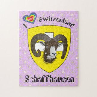 Create-live Switzerland Suisse Svizzera puzzle