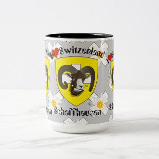 Create-live - Switzerland - Suisse - to Svizzera Two-Tone Coffee Mug
