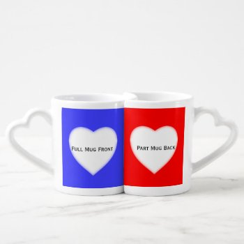 Create Lovers Mugs Color Coded To Help You Design by DigitalDreambuilder at Zazzle
