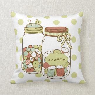 Create mason jars pillow