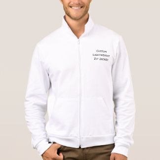 Create Mens Custom Lightweight Zip Jacket