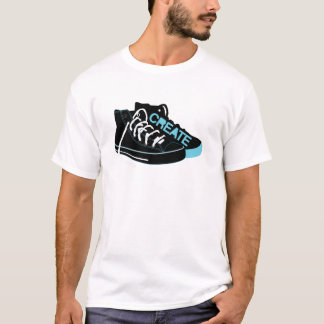 Create on Black T-Shirt