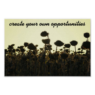 Create Opportunities Poster