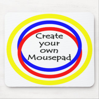 Create our own mousepad