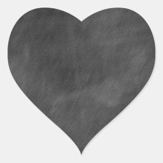 Create  own chalkboard designs - add text pics etc heart sticker