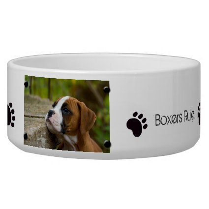 Create Own Custom Image & Text Dog Food Bowl