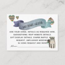 Create Own Event  Inserts - Woodland Animals