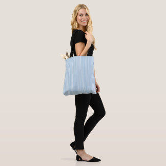 Create Own Personalized Gift |Baby Blue Watercolor Tote Bag