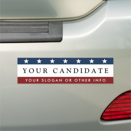 Create Presidential Election Car Magnet