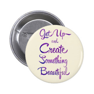 Create Something Beautiful Purple Pins