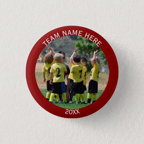 Create Sports Team Photo Button