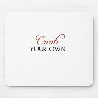 Create Template Mouse Pad
