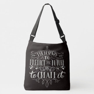 Create the Future - Print All Over Tote - See Back
