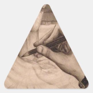 Create Triangle Sticker